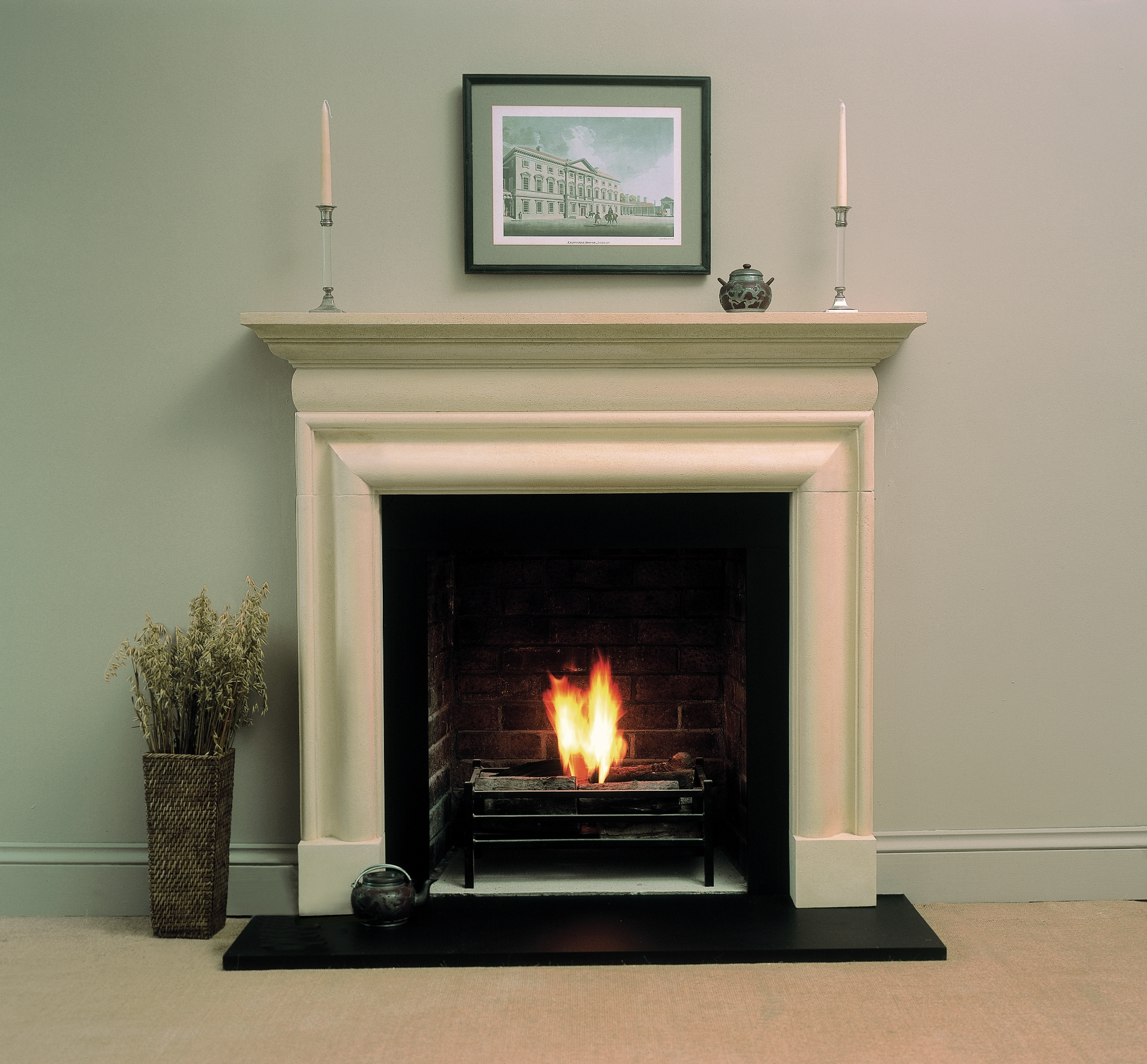 rudloe cast and natural stone fireplaces and flooring made in